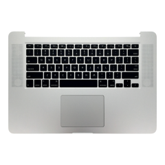 "For MacBook Pro Retina 15"" A1398 2015 US Keyboard Top Case with Trackpad & Battery Assembly"