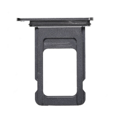 For iPhone Xs Max Single SIM Card Tray Space Gray