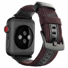 For Apple Watch 38mm 42mm Nylon Jeep Watch Band