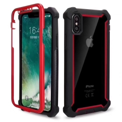 For iPhone Full Protective Silicone Case Shockproof Cover