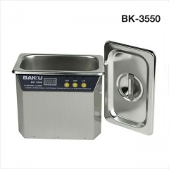BK-3550 110V220V Stainless Steel 800ml Ultrasonic Cleaner For Communications Equipment Cleaning Tool Machine