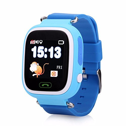 Kids Smart Watch Q90 GPS GSM Bracelet Tracker Support GPS Locator SOS Call Remote Monitor Pedometer Voice Chatting