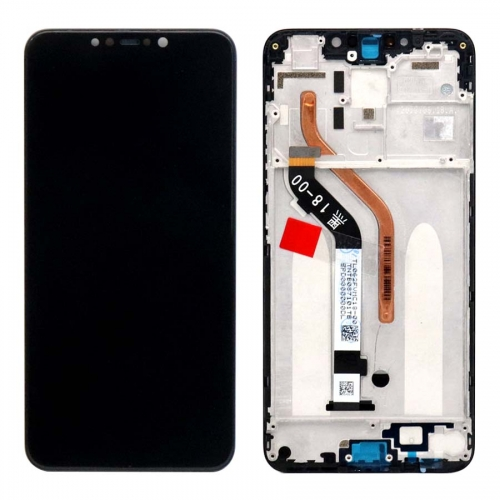 For Xiaomi Pocophone F1 LCD Screen Display Touch Assembly With Frame Black