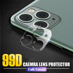 For iPhone 11 Pro XS Max X XR 8 7 6 6S Plus Clear Back Camera Lens Screen Protector Protective Film Tempered Glass