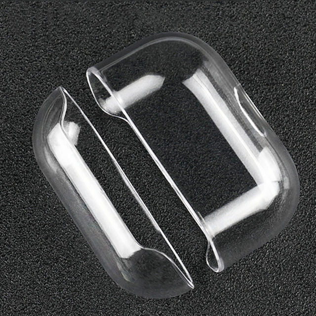 For Airpods Pro Hard Pc Case Clear Transprent Cover For Airpod Pro