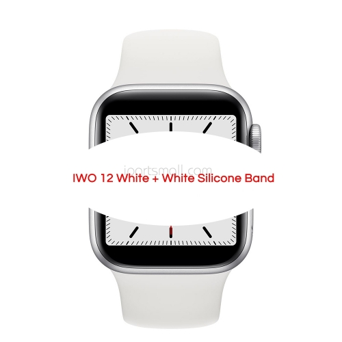 IWO 12 Bluetooth Smart Watch IWO12 40mm 44mm Series 5 W55 1:1 Case for IOS Android Heart Rate ECG IP68 Waterproof