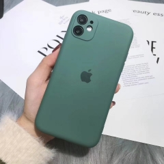 For iPhone 11 Pro Max Silicone Case With Good Camera Protective Cover