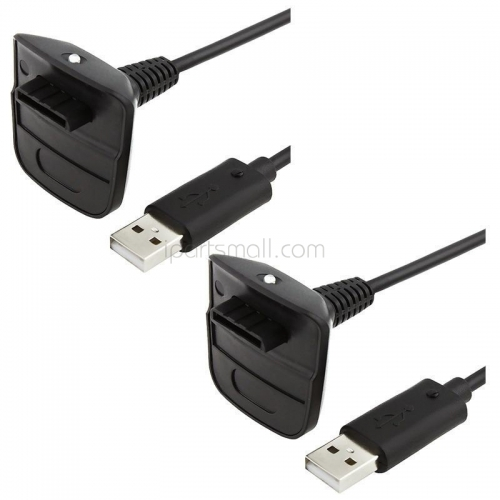 Original USB Charging Cable Replacement Charger for Xbox 360 Wireless Game Controller