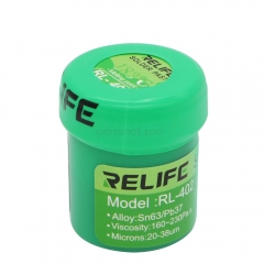RELIFE No-clean Soldering Paste RL-400 RL-401 RL-402 40g Sn63Pb67 183°C Solder Paste for iPhone Phone BGA Reballing Soldering