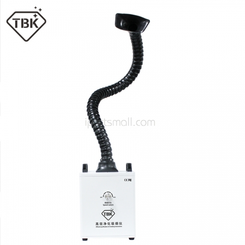 TBK Soldering Smoke Cleaner Smoke Dust Purifier Two Heads Smoke Purification Fume Extractor Air Cleaner Filter Dust Clean Room