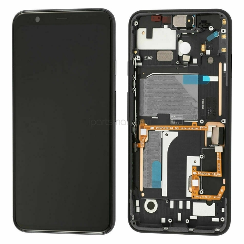 For Google Pixel 4 LCD Display Touch Screen Assembly Replacement With Frame