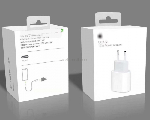 Original New 18W EU Fast Charger USB-C Power Adapter For iPhone 11/11 PRO/11 PRO Max