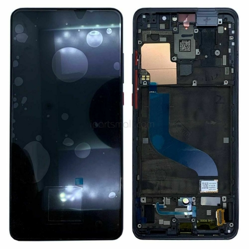 For Xiaomi Redmi K20 Pro Mi 9T Pro LCD Display Touch Screen Digitizer With Black Frame Assembly