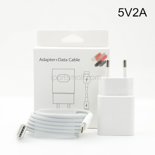 New Original For Huawei P30 5V 2A Fast Charger EU US Power Adapter With Type C Cable