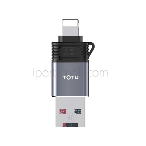 TOTU USB-C Type-C iPhone to USB 2 in 1 Card Reader