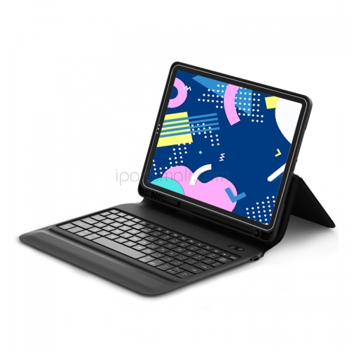 For iPad WiWU Bluetooth Keyboard Case Pencil Holder Protective Tablet Cover