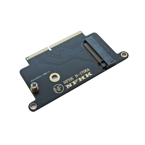 "NVMe PCI Express PCIE to M.2 SSD Adapter Card N-1708A for Macbook Pro Retina 13"" A1708 2016 2017"