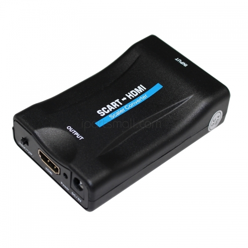 1080P SCART To HDMI Video Audio Upscale Converter Adapter