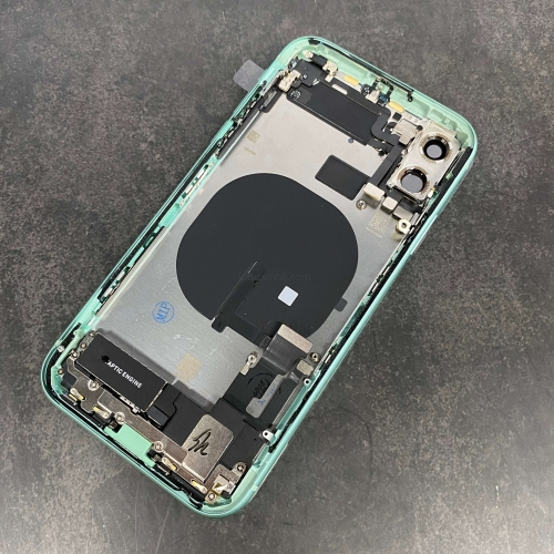 For iPhone 11 Rear Back Cover Battery Housing Frame Assembly With Small Parts Original Pulled