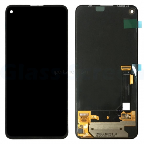 For Google Pixel 4A 5G G025E G025I G6QU3 LCD Display Touch Screen Assembly Black Original AMOLED