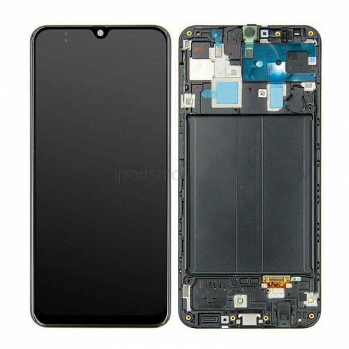 For Samsung Galaxy A30 A305 A305F Display LCD Touch Screen With Frame Assembly Original
