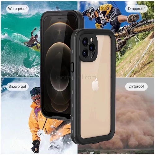 For iPhone 12 Mini Pro Max Waterproof Dropproof Case Phone Cover