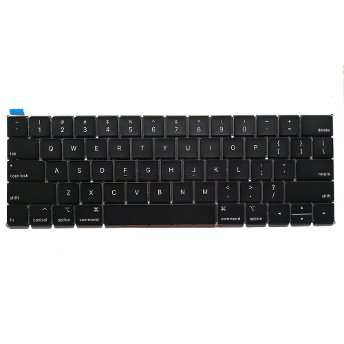 "For Macbook Pro Retina 13"" 15"" Touchbar A1989 A1990 Keyboard Replacement 2018 2019 US UK Spanish SP Layout"