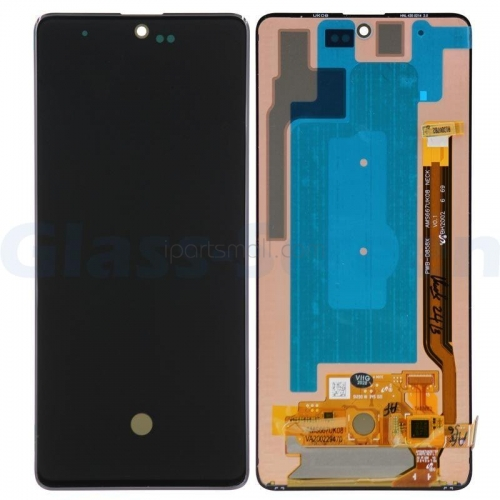 For Samsung Galaxy Note 10 Lite N770F DS N770F DSM AMOLED LCD Display Touch Screen Assembly Black Original