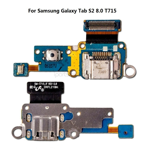 For Samsung Galaxy Tab S2 8.0 T710 T715 SM-T710 SM-T715 USB Charger Board Socket Dock Connector Charging Flex Replacement