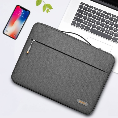 WiWU Waterproof Laptop Sleeve for MacBook Simple Handle Bag Case